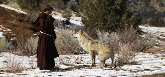 St. Francis Meets the Wolf