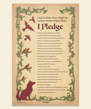 Franciscan Peacemaking | Pledge Poster