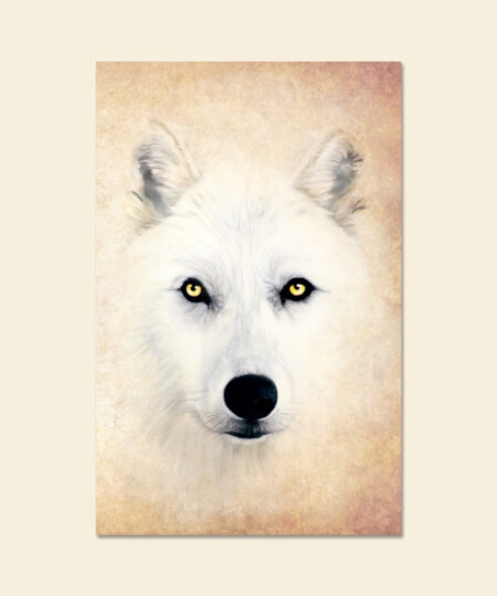Taming the Wolf Greeting Card