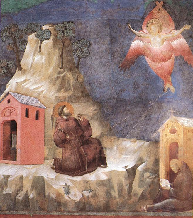 Stigmatization of St Francis by Giotto