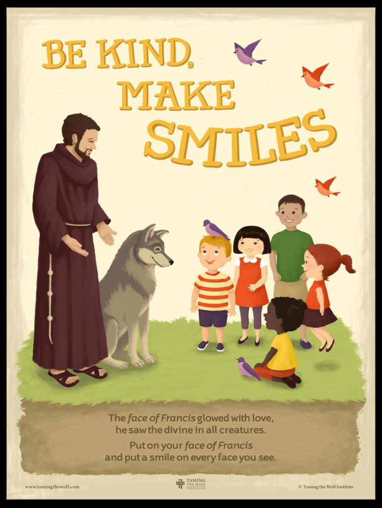 Face of Francis Anti-Bullying Poster
