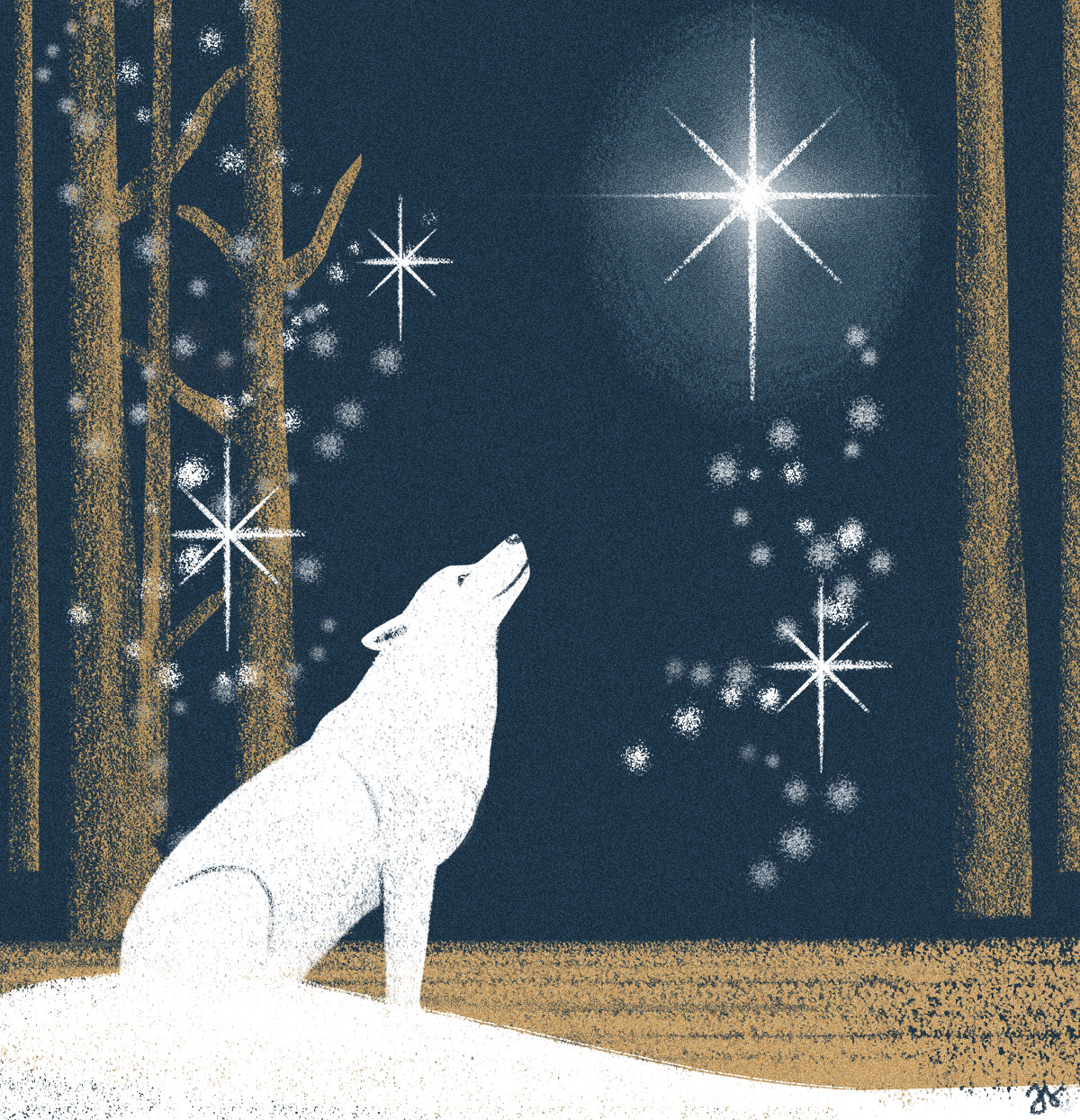 Taming the Wolf Institute Christmas Card